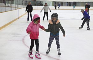 Public skating Langley BC